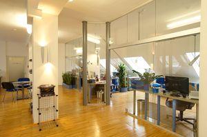 Großraumbüros Innenarchitektur