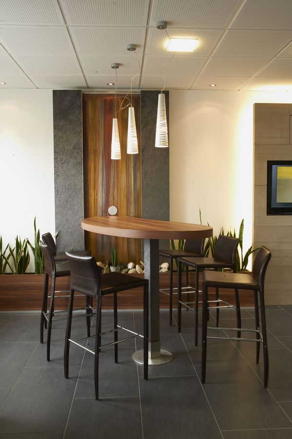 Empfang Büro Innenarchitektur